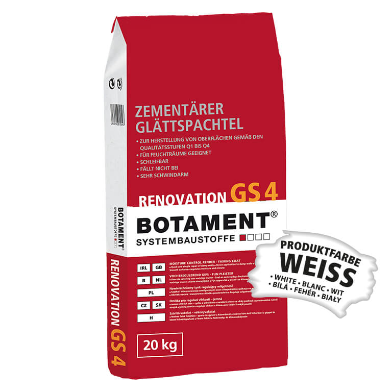 Botament Renovation GS 4 Glättspachtel