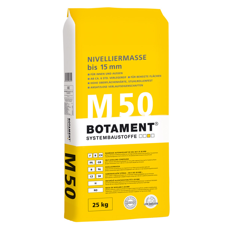 Botament M 50 Classic Levelling Compound  up to 20 mm