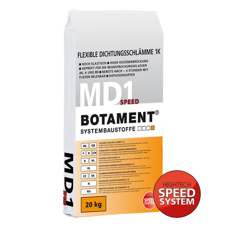 Botament MD 1 SPEED Flexible Dichtungsschlämme