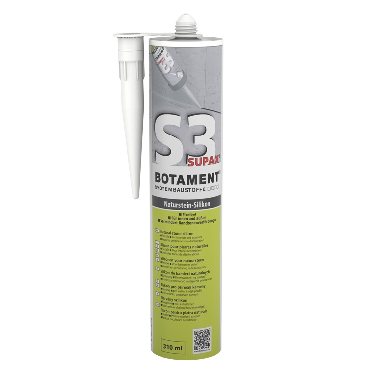 Botament S 3 Supax Natural Stone Silicone