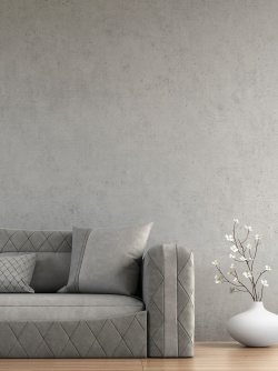 The urban concrete look for attracte walls