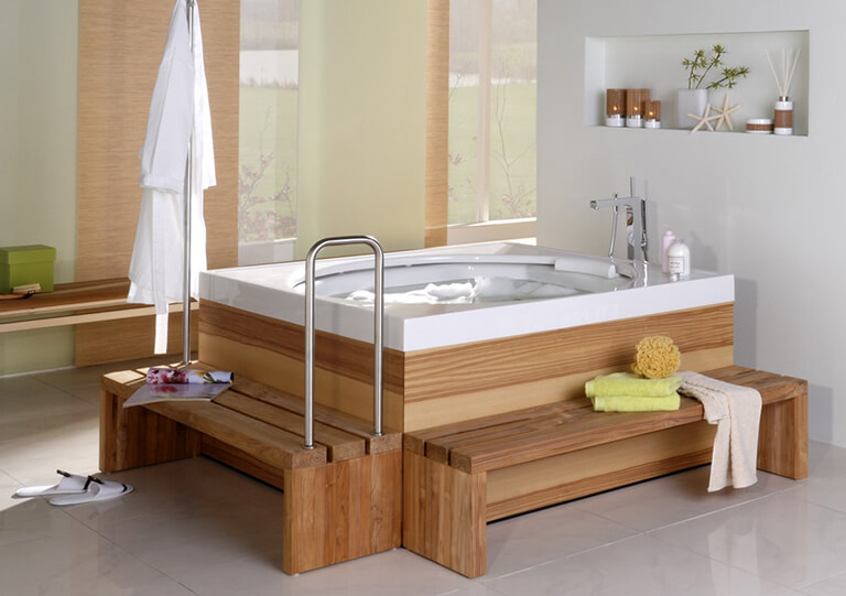 Bathtub elements